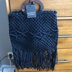 NWT Danielle Nicole Crochet Bag from box of style